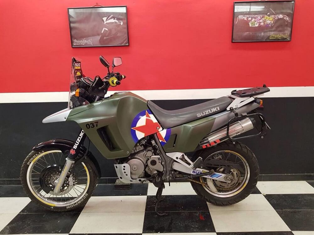 presvlačenje motocikala folijom Broutality 2